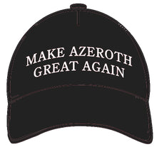 Load image into Gallery viewer, Make Azeroth Great Again Hat