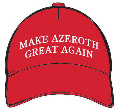 Make Azeroth Great Again Hat