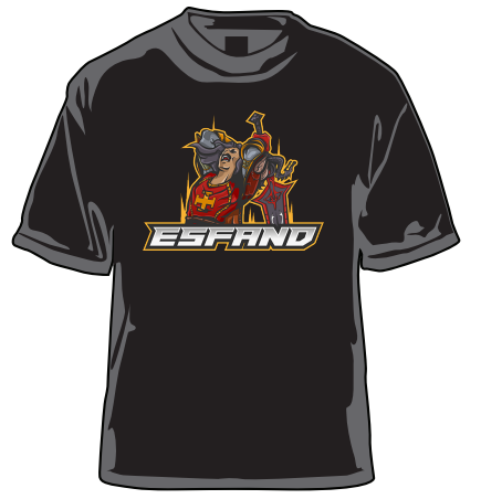 Esfand Seal of Command T-Shirt Black