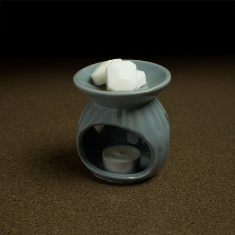 Light Gray Wax Melter with Wax Melts