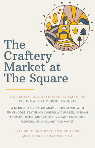 The Craftery Market Flyer at The Square