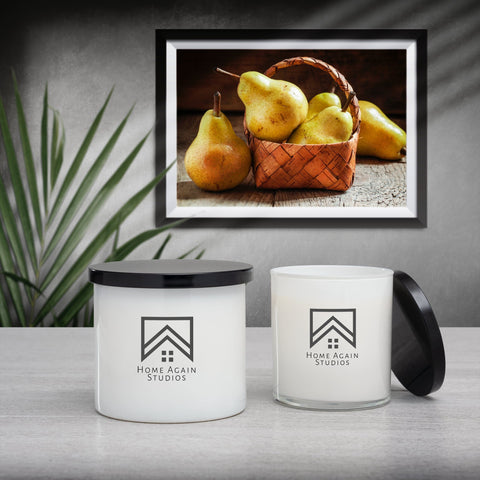 Golden Pear Candle