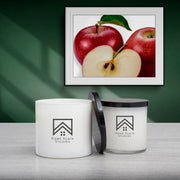apple crisp scented candle