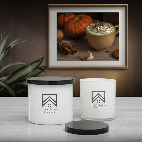pumpkin spice scented candle