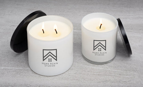 double and single wick candle options
