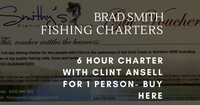 Fishing charter gift vouchers- Clint's boat