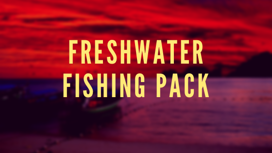 Freshwater fishing pack