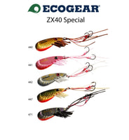 Ecogear ZX40 pack plus UV prawn scent! Includes postage