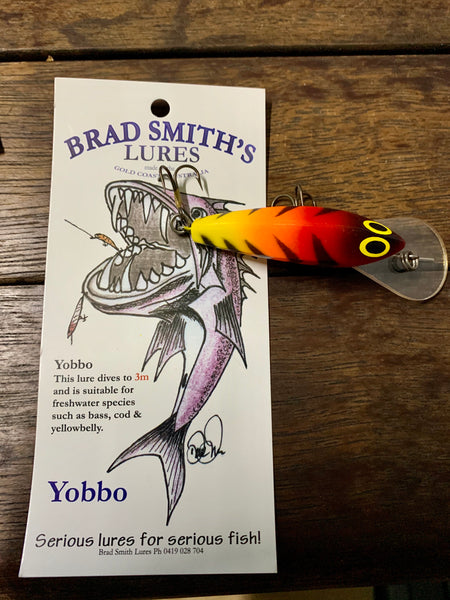 Brad Smith's Yobbo lure 2 pack *limited edition*