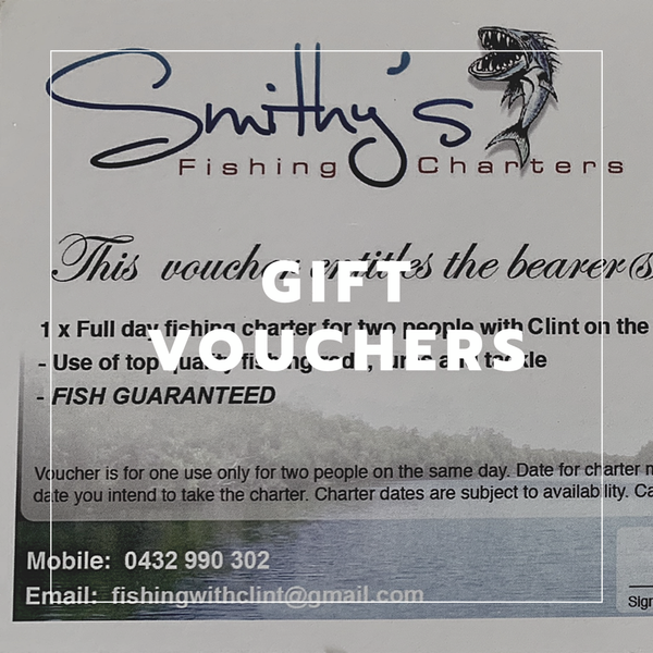 Fishing Charter gift voucher- Brad Smith's boat