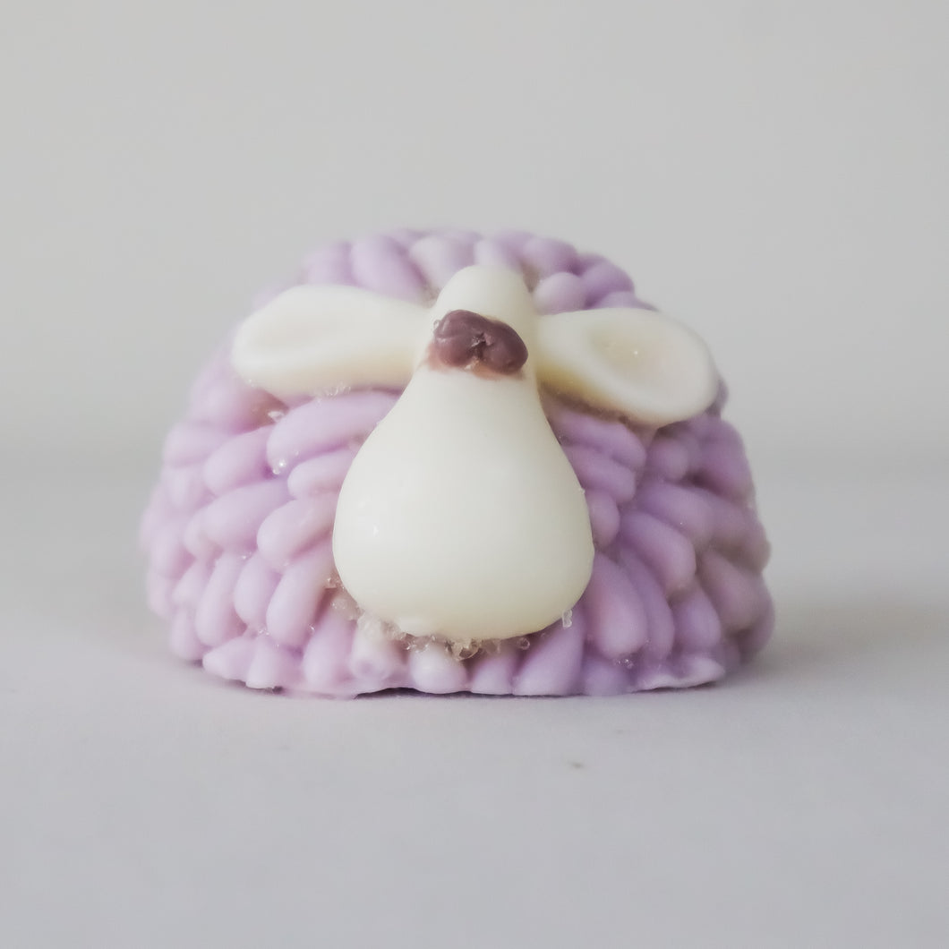Purple Bubblegum - Sheep 'Goatsmilk' Soap | Miss LA Soaps: handmade bar soap, handmade artisan soap, all natural bath products, high end bath body products