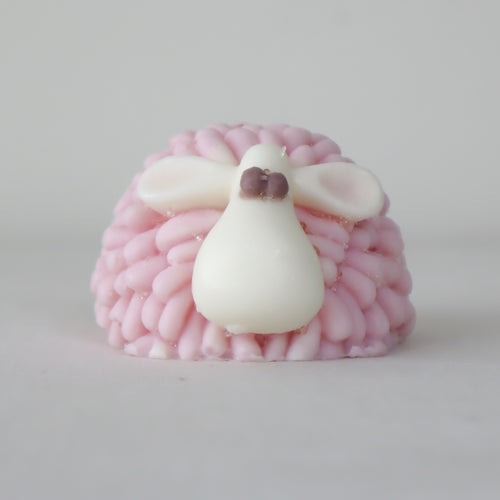Pink Bubblegum - Sheep 'Goatsmlk' Soap | Miss LA Soaps: handmade bar soap, handmade artisan soap, all natural bath products, high end bath body products