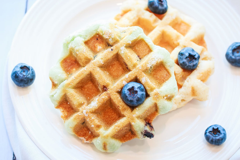 Blueberry Waffles - Ready to Eat Pack of 4