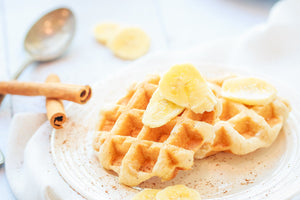 Cinnamon Waffles - Ready to Eat pack of 4