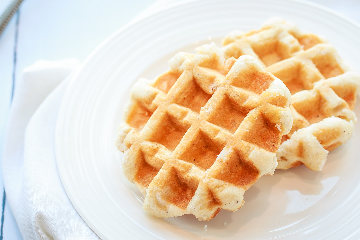 Vanilla Waffles - Ready to Eat Pack of 4