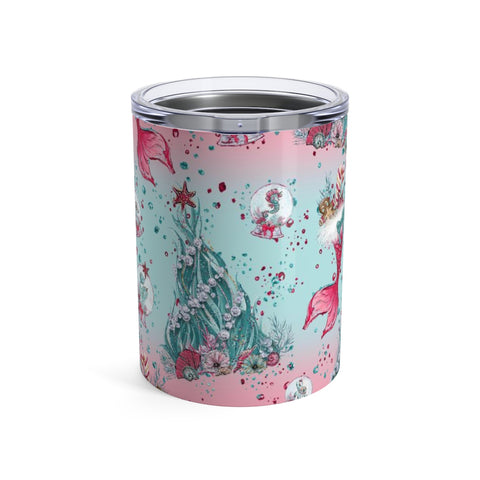Under The Sea Holiday Tumbler 10oz