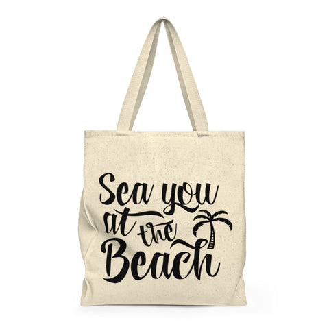 Sea You at the Beach Shoulder Tote Bag - Roomy - Mermaids and Minis