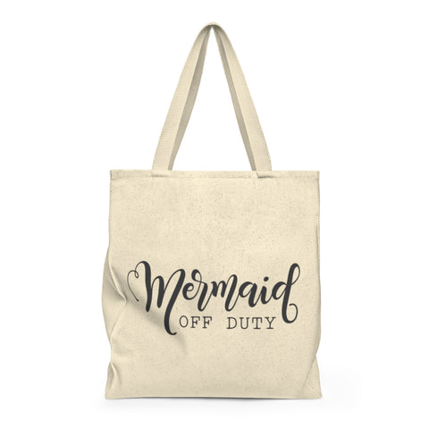 Mermaid Off Duty Shoulder Tote Bag - Roomy - Mermaids and Minis