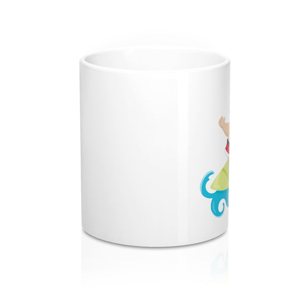 Surfing Santa Mug - Mermaids and Minis