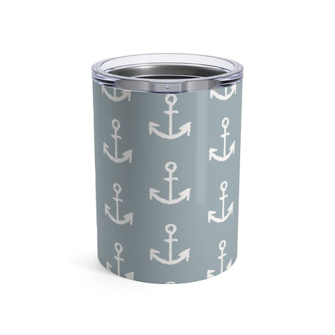 Anchor Tumbler 10oz - Mermaids and Minis