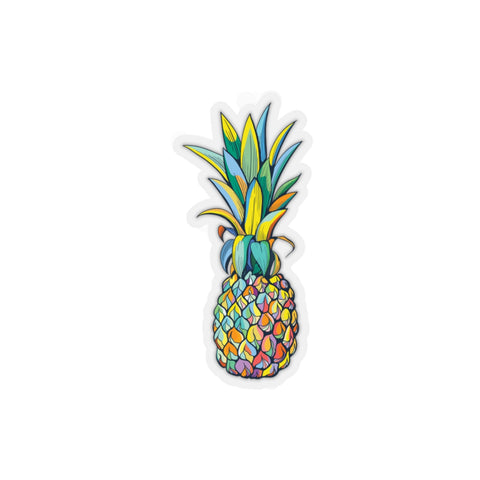 Kiss-Cut Colorful Pineapple Sticker - Mermaids and Minis