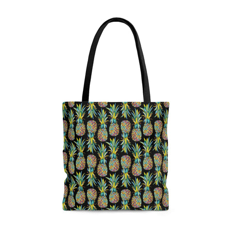 Colorful Pineapples Tote Bag - Mermaids and Minis