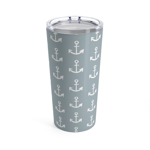 Anchor Tumbler 20oz - Mermaids and Minis