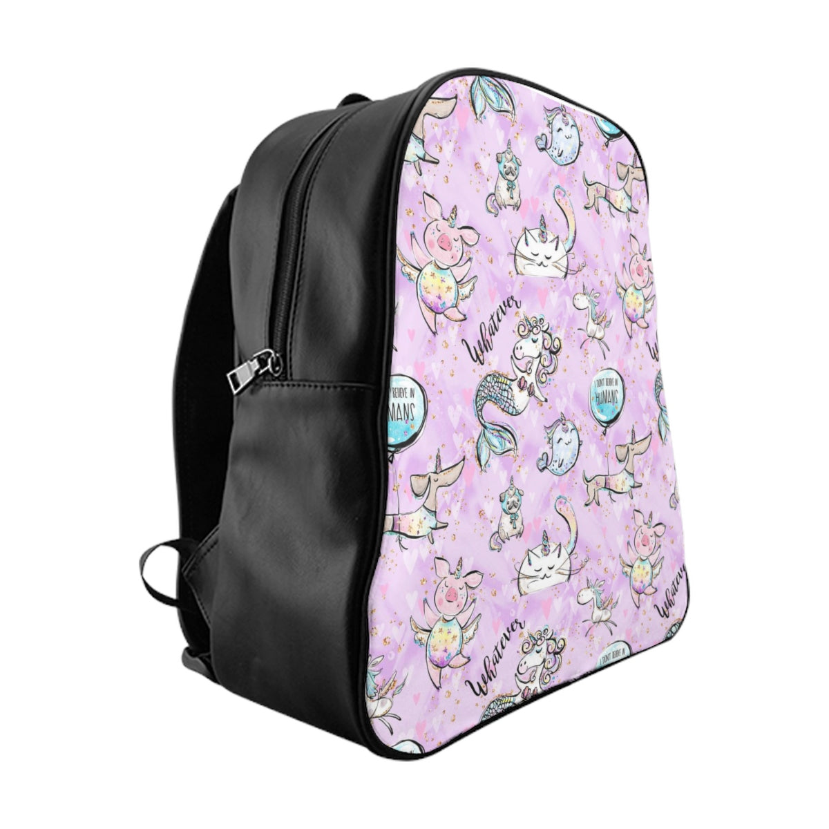 I don't Believe in Humans Magical School Backpack - Mermaids and Minis