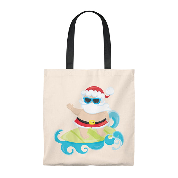 Surfing Santa Tote Bag - Vintage - Mermaids and Minis