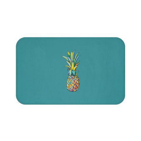 Colorful Pineapple Bath Mat - Mermaids and Minis