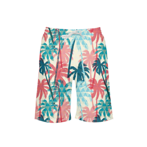 Palm Daze Boy's Swim Trunk - Mermaids and Minis