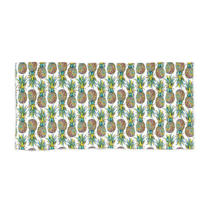 Colorful Pineapple Beach Towel - Mermaids and Minis