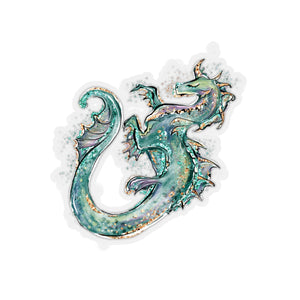 Dragon Kiss-Cut Sticker - Mermaids and Minis