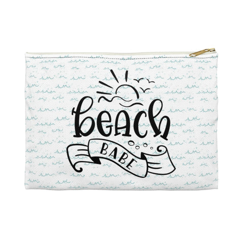 Beach Babe Zipper Pouch - Mermaids and Minis