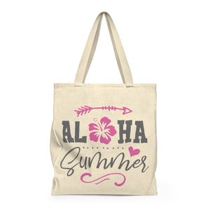 Aloha Summer Shoulder Tote Bag - Roomy - Mermaids and Minis