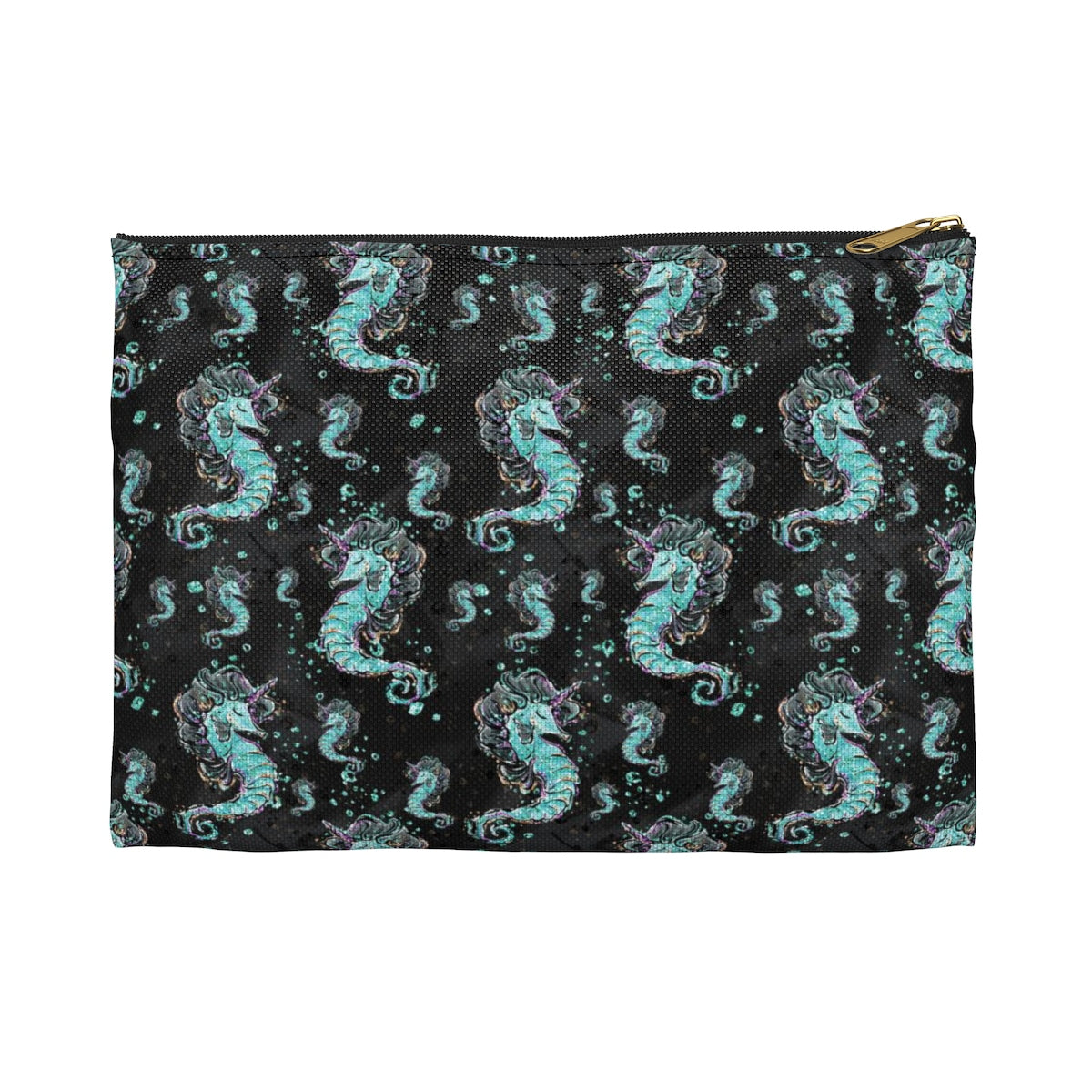 Seahorse Unicorn Accessory Pouch - Mermaids and Minis