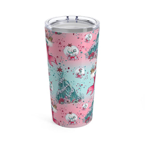 Under The Sea Holiday Tumbler 20oz - Mermaids and Minis