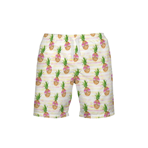 Sunglasses Pineapple Men's Swim Trunk - Mermaids and Minis