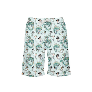 Merboys and Pirates Under the Sea Boy's Swim Trunk - Mermaids and Minis