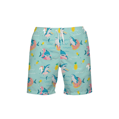 Summer Shark Men's Swim Trunk - Mermaids and Minis