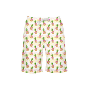Sunglasses Pineapple Boy's Swim Trunk - Mermaids and Minis
