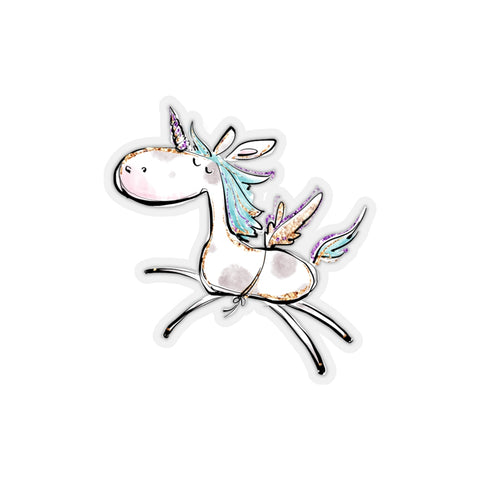 Kiss-Cut Unicorn Sticker - Mermaids and Minis