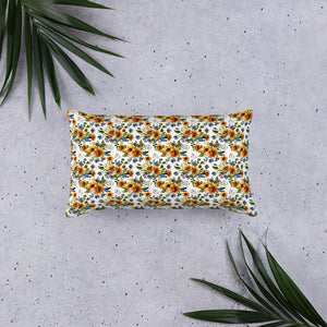 Sunflower Pillow - Mermaids and Minis