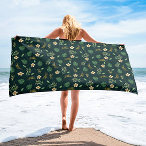 Aloha Towel - Mermaids and Minis
