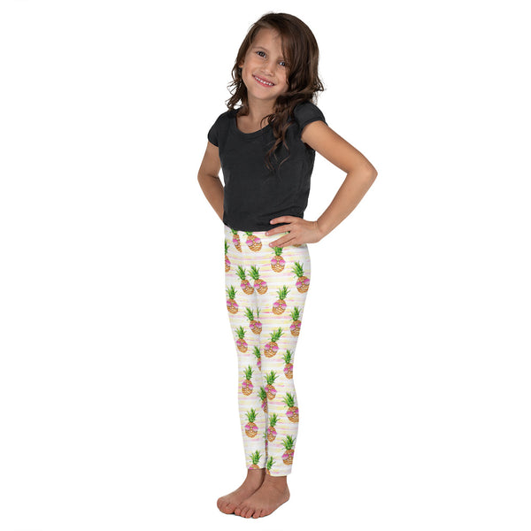 Sunglasses Pineapple Kid's Leggings - Mermaids and Minis
