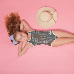 Fall | Aztec Kids Swimsuit - Mermaids and Minis