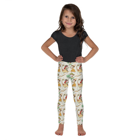 Dinosaur Girls Kid's Leggings - Mermaids and Minis