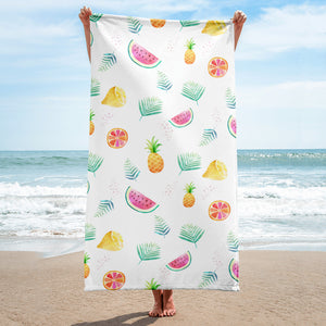 Fun and Fruity Towel - Mermaids and Minis