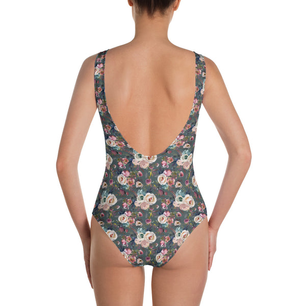 Dark Spring One-Piece Swimsuit - Mermaids and Minis