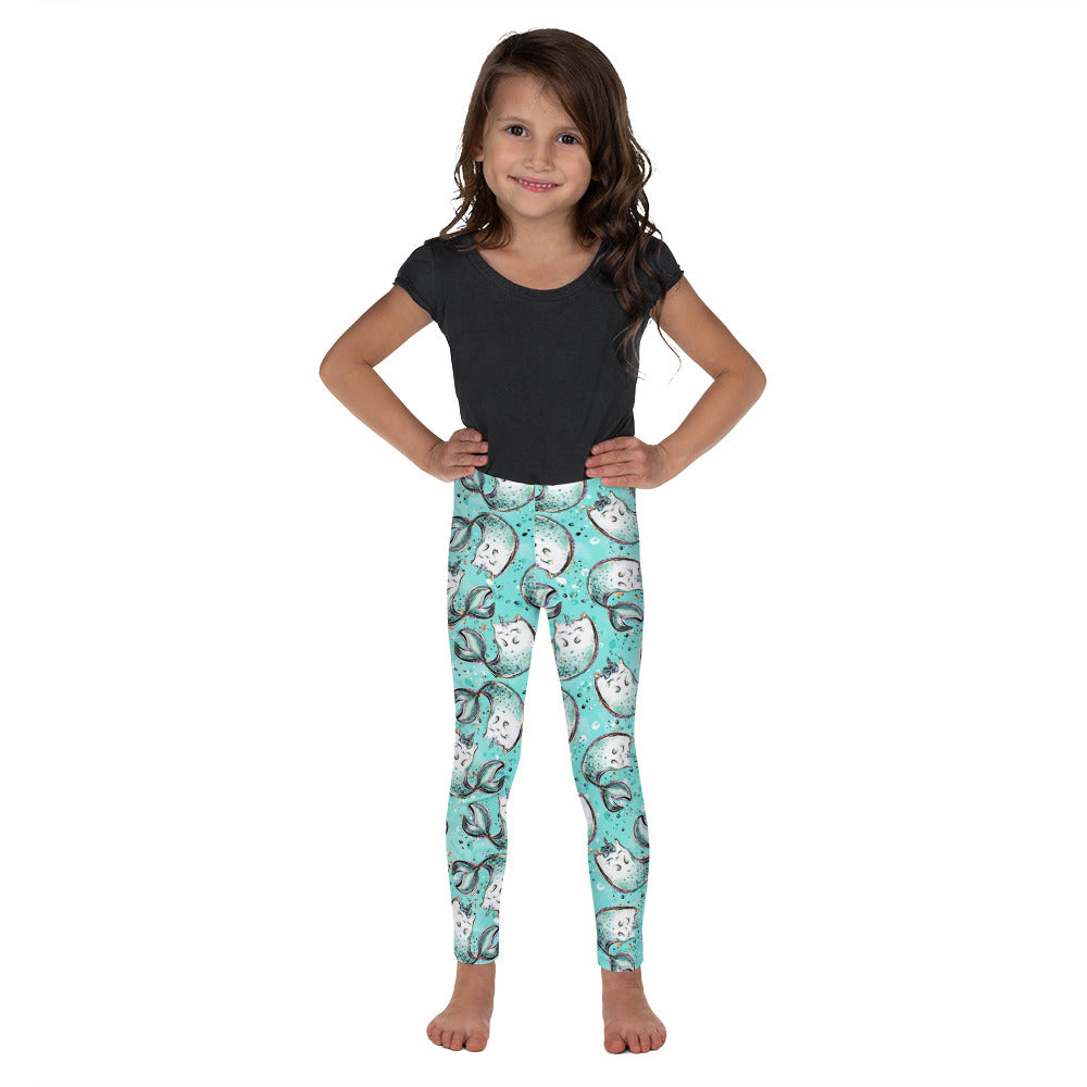 Merkitty Kid's Leggings - Mermaids and Minis